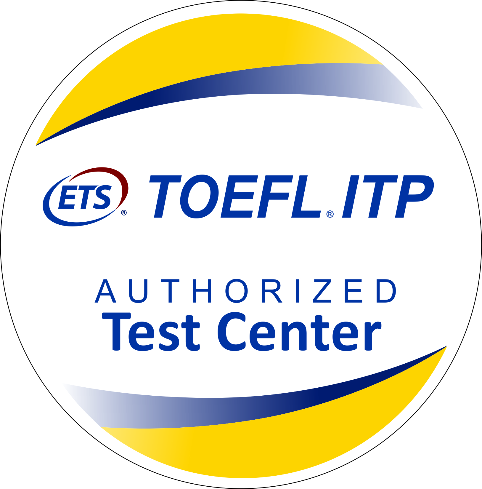 Exame TOEFL by ETS.
